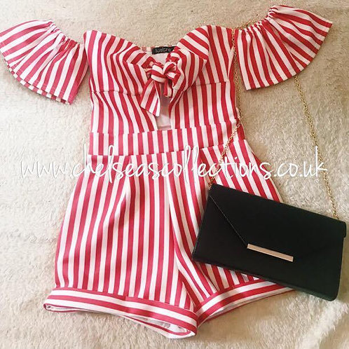 Candy Cane Playsuit