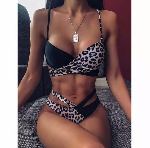SIAN Leopard Print Bikini