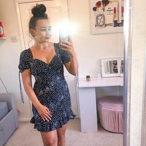 TINA Polka Dot Tea Dress