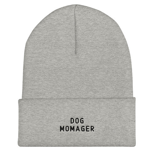 Dog Momager Cuffed Beanie
