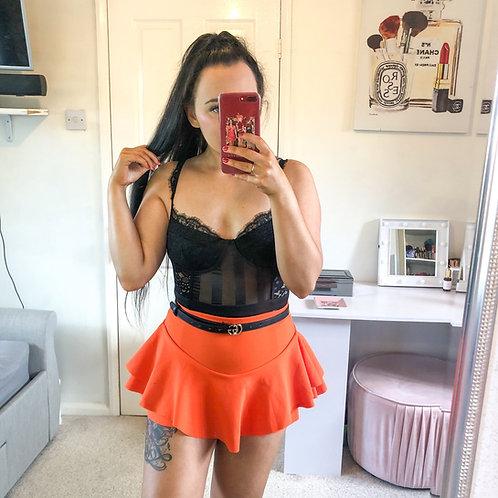 CAYSEY Mesh Lace Bodysuit - Black