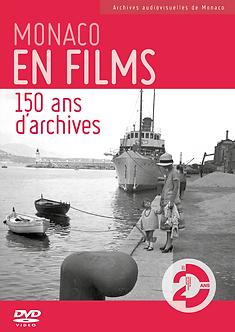 DVD MONACO EN FILMS 150 ans d'archives