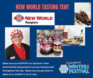 2019 New World Tasting Tent