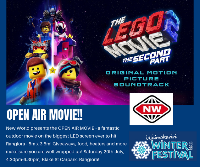 2019 New World Open Air Movie