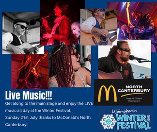 McDonalds Live Music