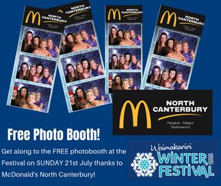 McDonalds Photobooth