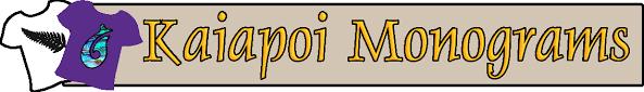 Kaiapoi Monograms