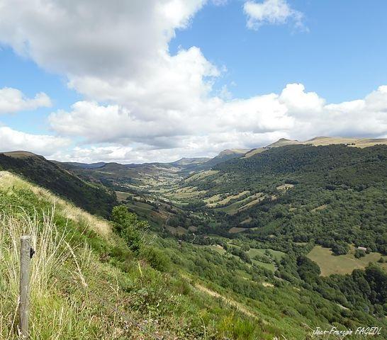 Vallée du Mars dans le Cantal