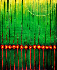 charlotte-wensley-abstract-acrylic-on-canvas-all-looking-for-light-2010