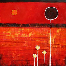 charlotte-wensley-abstract-acrylic-on-canvas-beneath-the-oak-2009