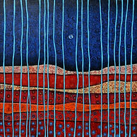 Charlotte Wensley Australian Abstract Painter Abstract Landscape Painting