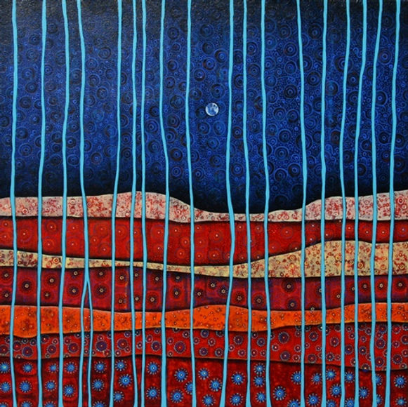 Charlotte Wensley Australian Abstract Painter Abstract Landscape Painting Noosa Sunshine Coast Queensland Australia Artist Painter Charlotte Wensley Australian Abstract Painter Abstract Landscape Painting Into the Blue 480 x 480.jpg