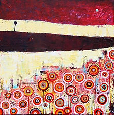 charlotte-wensley-abstract-acrylic-on-canvas-the-ledge-2011