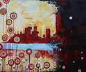 Charlotte Wensley Australian Abstract Painter Abstract Landscape Painting Noosa Sunshine Coast Queensland Australia Artist Painter Charlotte Wensley Australian Abstract Painter Abstract Landscape Painting Going On 400 x 250.JPG