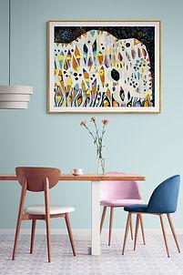 Rustlers in pink and blue dining room.jpg