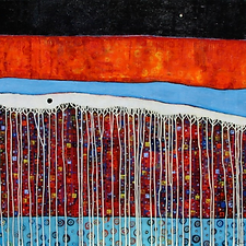 charlotte-wensley-abstract-acrylic-on-canvas-painting-to-the-river-2013
