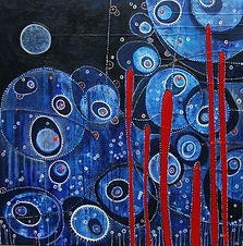 charlotte-wensley-abstract-acrylic-on-canvas-descent-2010