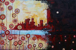 charlotte-wensley-abstract-acrylic-on-canvas-going-on-2011