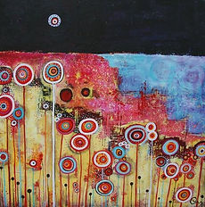charlotte-wensley-abstract-acrylic-on-canvas-migration-2011