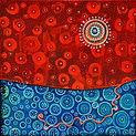 Charlotte Wensley Australian Abstract Painter Abstract Landscape Painting Noosa Sunshine Coast Queensland Australia Artist Painter