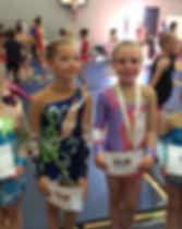 Billings Rhythmic Gymnastics Club Northampton Butterfly cup 2015