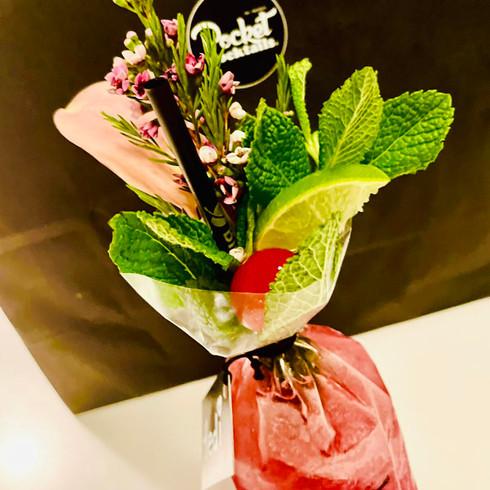 Strawberry Daiquiri to go | Original Pocket Cocktails - Liefern lassen Wien