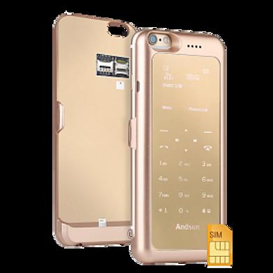ANDSUN IPHONE 6 / 6S Dual Sim Charger Case