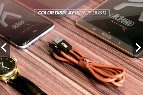 KLEE K004 COWBOY LEATHER USB CABLE