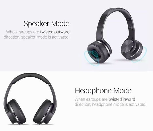 Sodo MH5 Over-Ear wired or  Wireless Fol