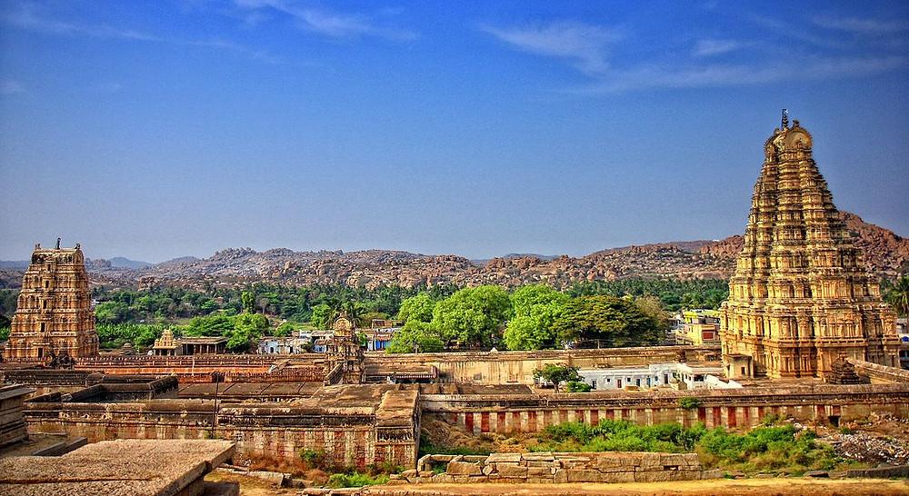 Virupaksha Temple Karnataka | Places to visit in Karnataka | UNESCO World Heritage site in India