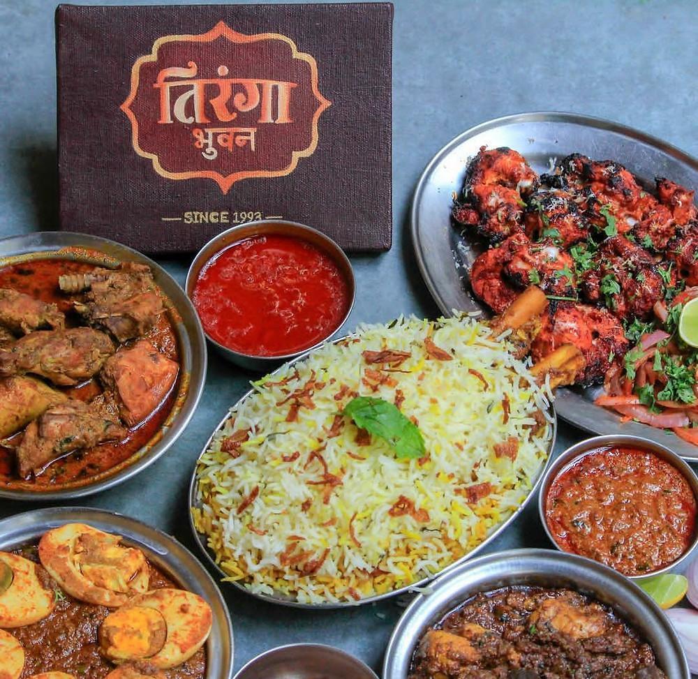 food from tiranga bhuvan