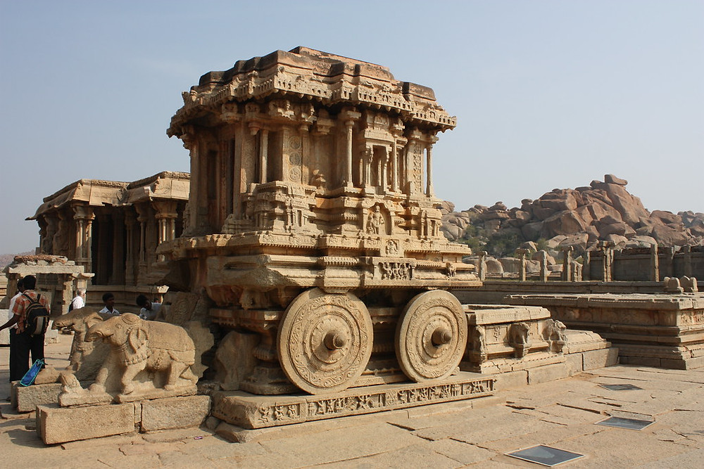 Vitthala Temple Manali | The Chariot on the Indian Currency | Places to visit in Hampi