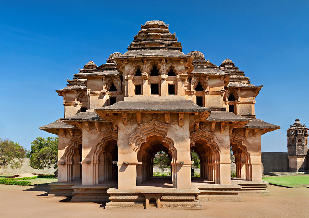 Lotus Mahal | Tourist places in Hampi | Karnataka Travel Guide