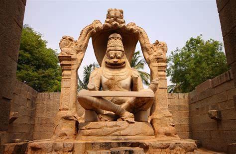 Ugra Narsimha Temple in Hampi |  Places to visit in Karnataka