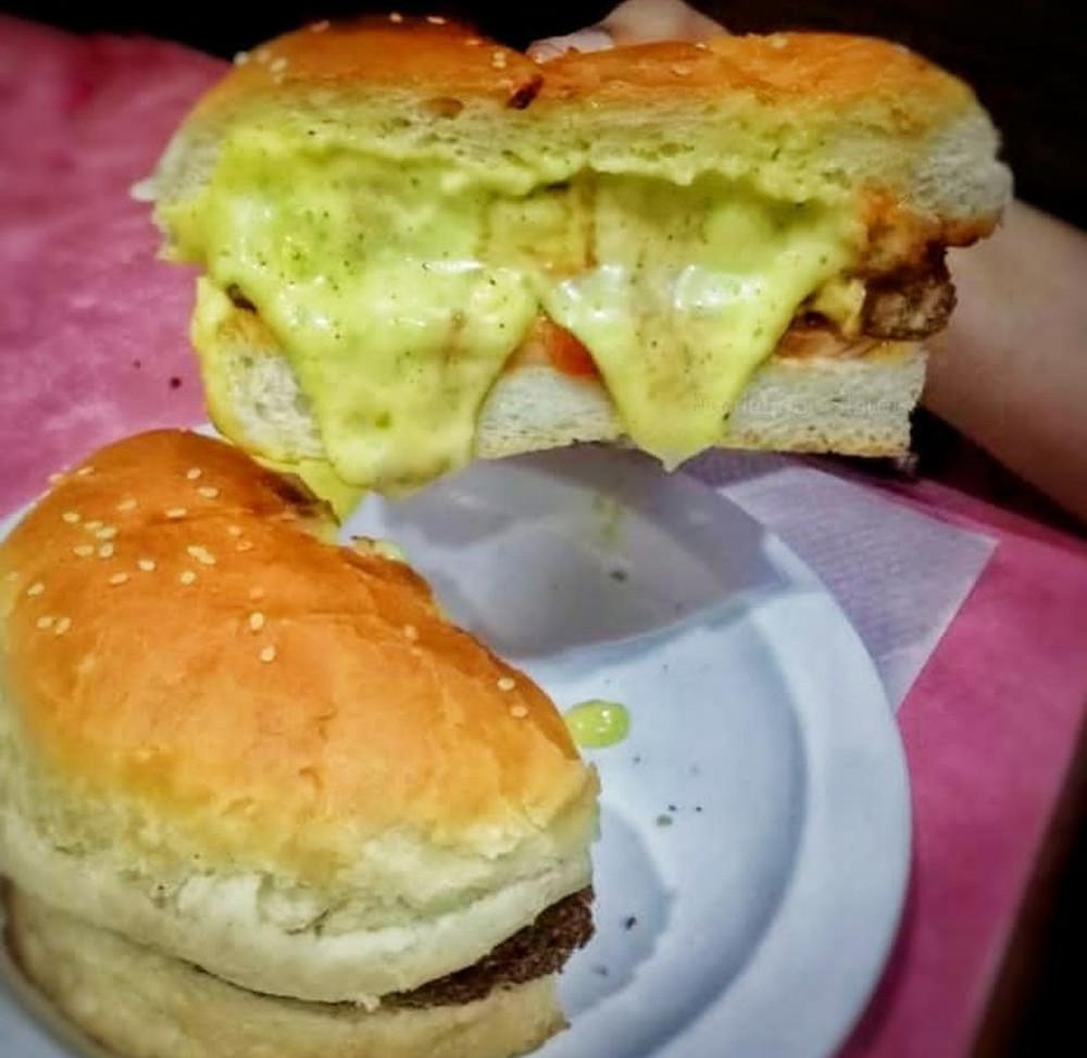 half cut burger