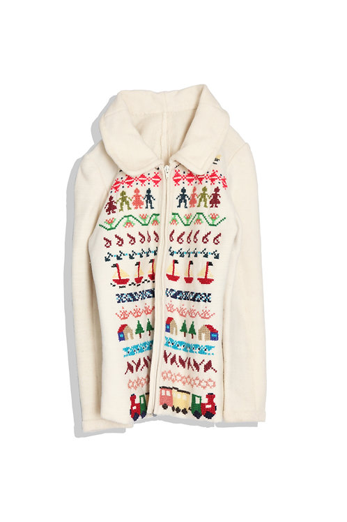 lovely nordic pattern sweater