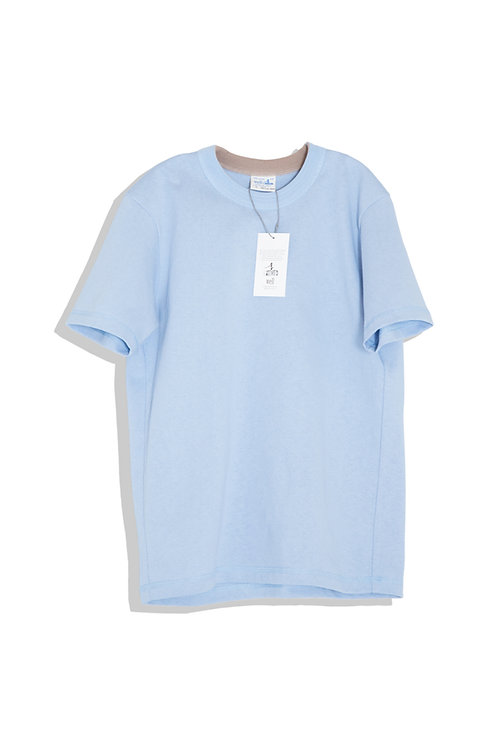 well; Ringer tee-shirts (blue)