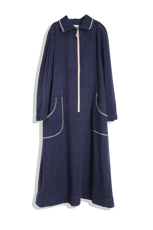 Denim colored jumper skirt