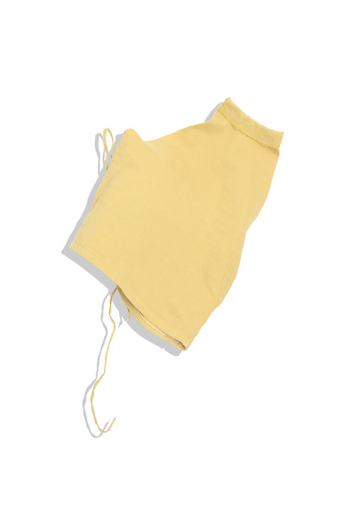 mm6 mustard colored top