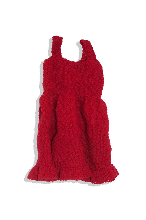 knitted mini rosa dress