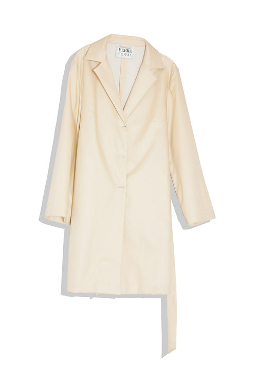 Gianfranco Ferre chic spring coat