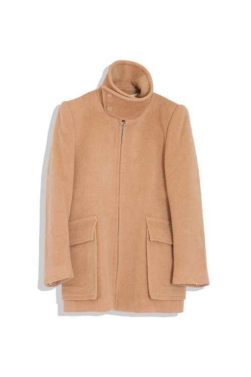 Margiela's heavily camel