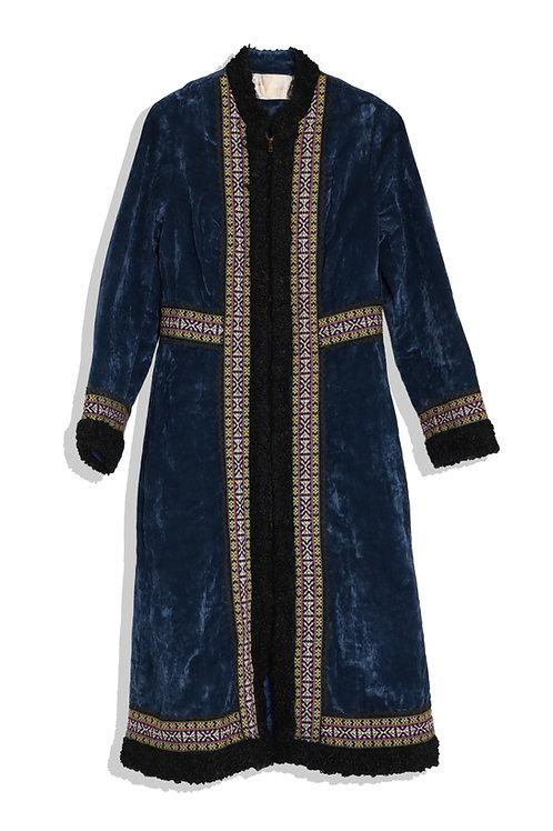 hobo chic vintage coat