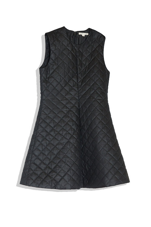 Helmut Lang quilted dress