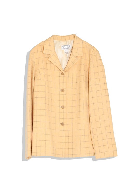 women's wool tailored jacket