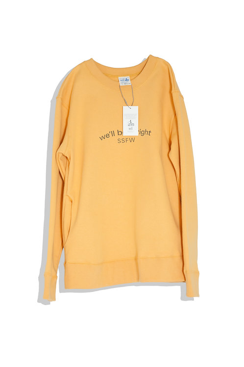 well; Our sweat shirt (orange)
