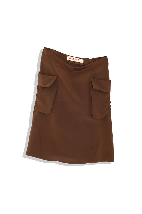 mini skirt with two pockets
