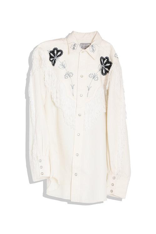 Western style white shirts