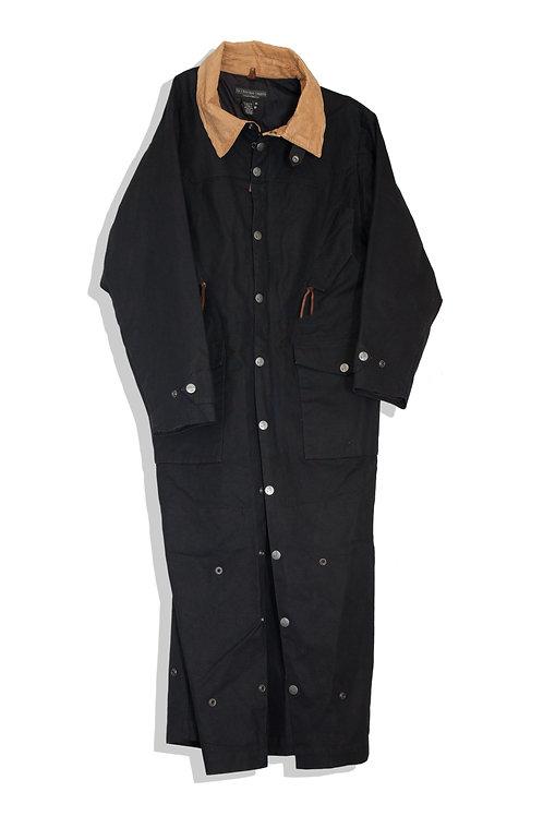 black work coat (over all)