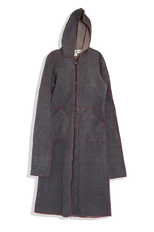 fleece long jumper